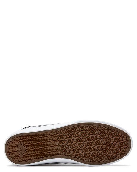 BLACK WHITE GOLD MENS FOOTWEAR EMERICA SNEAKERS - 6102000130715