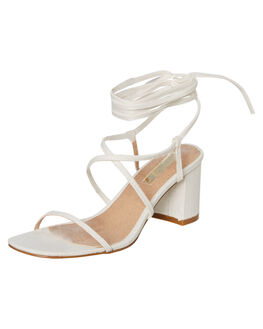 WHITE LINEN WOMENS FOOTWEAR BILLINI HEELS - H1297WHTLN