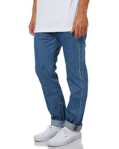 MEDIUM STONEWASH MENS CLOTHING LEVI'S JEANS - 00501-0193MSTN