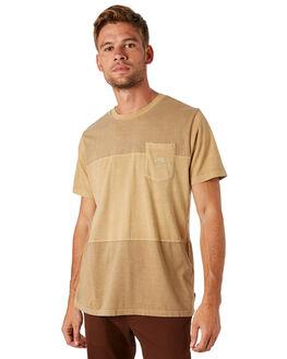 STRAW MENS CLOTHING BILLABONG TEES - 9581004STRAW