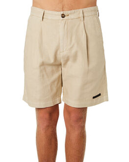 NATURAL MENS CLOTHING MISFIT SHORTS - MT092601NAT