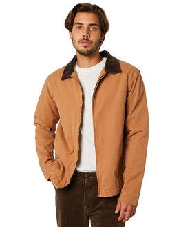 TOBACCO MENS CLOTHING RHYTHM JACKETS - JAN19M-JK01-TOB