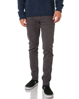 CHARCOAL MENS CLOTHING ACADEMY BRAND PANTS - 19W101CHA