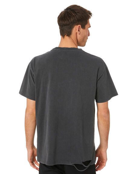 VINTAGE BLACK MENS CLOTHING THE PEOPLE VS TEES - AW20105_VNBLK