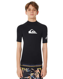 BLACK SURF RASHVESTS QUIKSILVER BOYS - UQBWR03012KVJ0