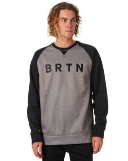 MONUMENT HEATHER MENS CLOTHING BURTON JUMPERS - 164651021