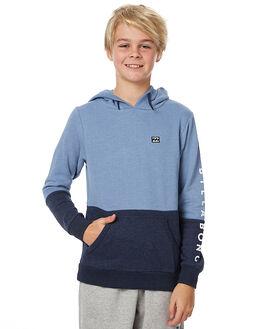 BLUE MARLE KIDS BOYS BILLABONG JUMPERS - 8576631BLU