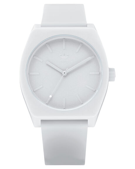 ALL WHITE MENS ACCESSORIES ADIDAS WATCHES - Z10-126-00AWHI