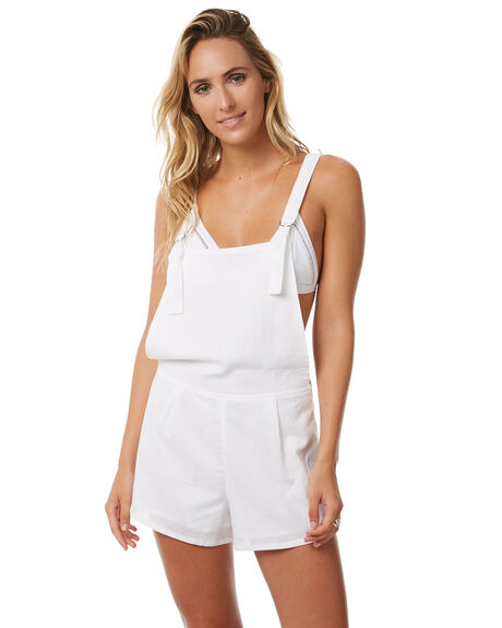WHITE WOMENS CLOTHING TEE INK PLAYSUITS + OVERALLS - CAST13AWHT