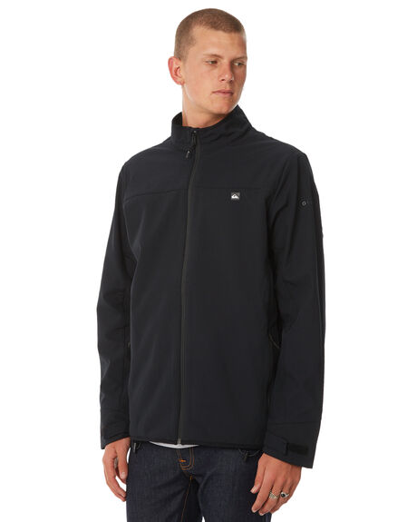 BLACK MENS CLOTHING QUIKSILVER JACKETS - EQYJK03405KVJ0