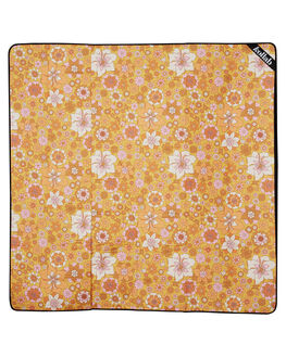 RETRO MUSTARD FLORAL WOMENS ACCESSORIES KOLLAB OTHER - PM-2M-RMF