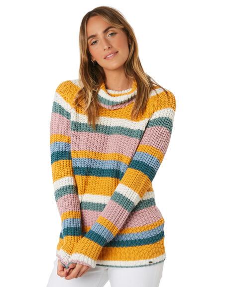 ALLSORTS STRIPE WOMENS CLOTHING O'NEILL KNITS + CARDIGANS - 5321408ALS