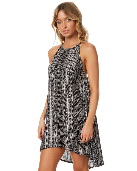 BLACK WOMENS CLOTHING RIP CURL DRESSES - GDRFD10090