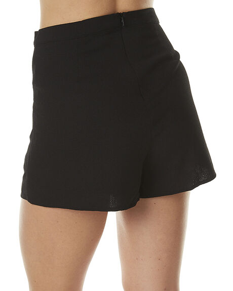 BLACK WOMENS CLOTHING MINKPINK SHORTS - MP1608442BLK