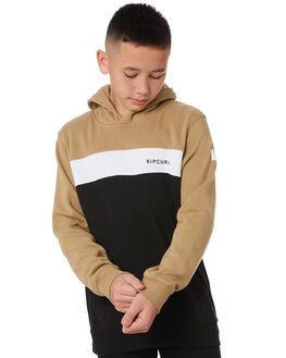 DARK KHAKI KIDS BOYS RIP CURL JUMPERS + JACKETS - KFEPJ19660