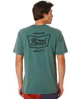 EMERALD MENS CLOTHING BRIXTON TEES - 06560EMRLD