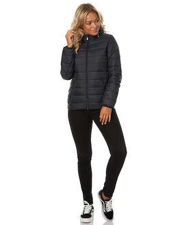 TRUE BLACK WOMENS CLOTHING ROXY JACKETS - ERJJK03158KVJ0