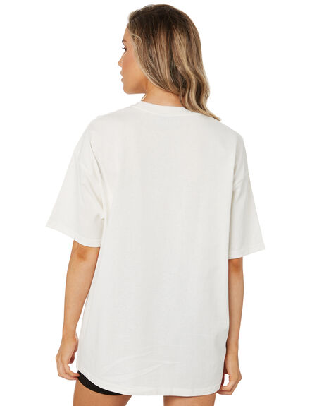 WHITE WOMENS CLOTHING JAGGER AND STONE TEES - JSW005-2WHT