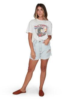 SALT CRYSTAL WOMENS CLOTHING BILLABONG TEES - BB-6507022M-SCY