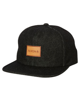 BLACK MENS ACCESSORIES NIXON HEADWEAR - C2911000