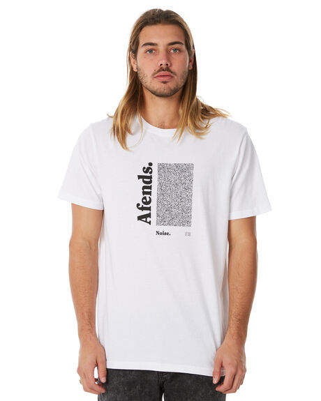 WHITE MENS CLOTHING AFENDS TEES - M183009WHT