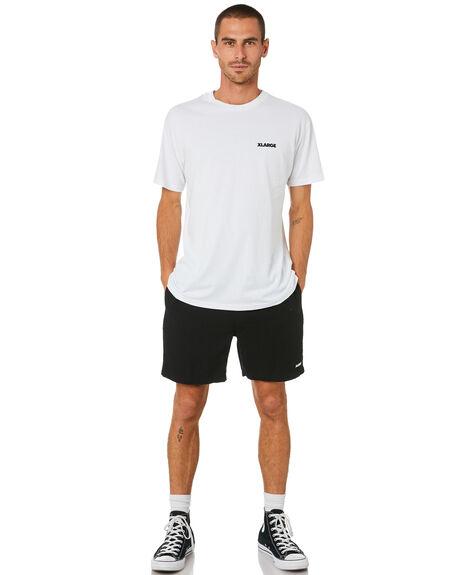 BLACK MENS CLOTHING XLARGE SHORTS - XL002600BLK