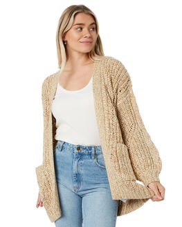 CORNSTALK WOMENS CLOTHING RUSTY KNITS + CARDIGANS - CKL0377CNL