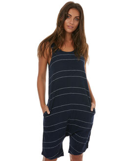STRIPE WOMENS CLOTHING ZULU AND ZEPHYR PLAYSUITS + OVERALLS - ZZ1795STRI