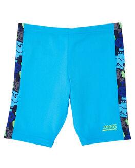 BLUE MULTI KIDS BOYS ZOGGS SWIMWEAR - 6046182BLUMT
