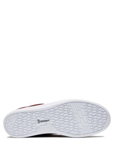 BURGUNDY WHITE MENS FOOTWEAR ETNIES SNEAKERS - 4101000517637