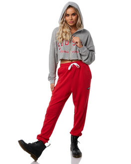 GREY WOMENS CLOTHING STUSSY JUMPERS - ST181315GRY