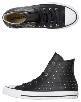 BLACK WOMENS FOOTWEAR CONVERSE SNEAKERS - 561682BLK