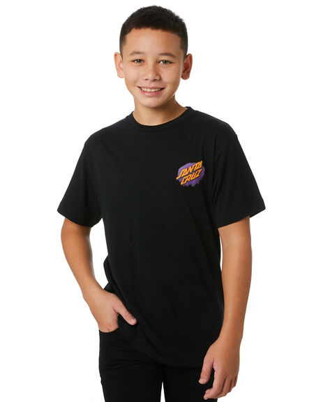 BLACK KIDS BOYS SANTA CRUZ TOPS - SC-YTB0403BLK