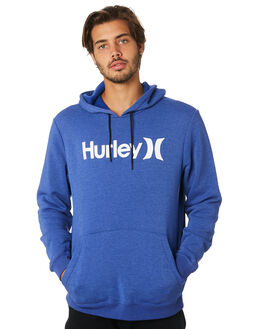 DEEP ROYAL HEATHER MENS CLOTHING HURLEY JUMPERS - AQ0773402
