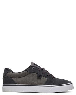 GREY/BLACK/BLACK MENS FOOTWEAR DC SHOES SNEAKERS - ADYS300147-XSKK