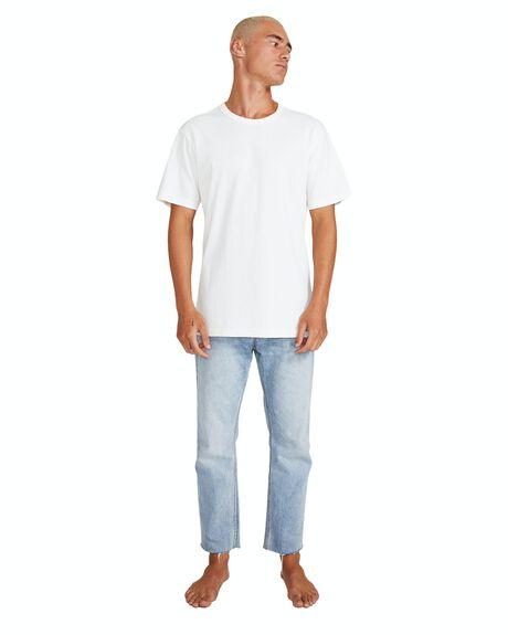 WHITE MENS CLOTHING GENERAL PANTS CO. BASICS TEES - 19213200021