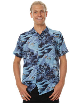 BLUE HAWAII MENS CLOTHING ROLLAS SHIRTS - 151163091