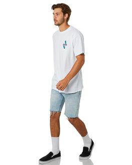 WHITE MENS CLOTHING ZANEROBE TEES - 124-CONWHT