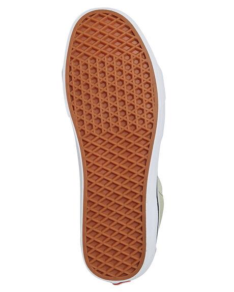 DESERT SAGE WHITE WOMENS FOOTWEAR VANS SNEAKERS - SSVNA38GEU62GRNW
