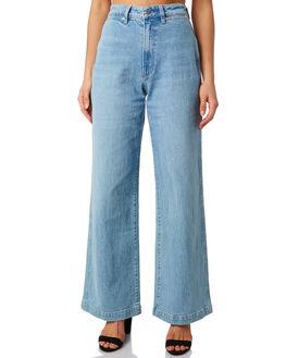 BALLAD BLUE WOMENS CLOTHING WRANGLER JEANS - W-951476-G79