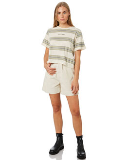 ALFAFA WOMENS CLOTHING THRILLS TEES - WTR9-109FALF