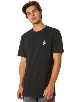 BLACK MENS CLOTHING VOLCOM TEES - A4331970BLK