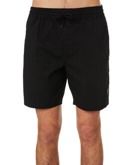 BLACK MENS CLOTHING VOLCOM SHORTS - A1001901BLK