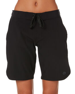 BLACK WOMENS CLOTHING RIP CURL SHORTS - GBOEB10090