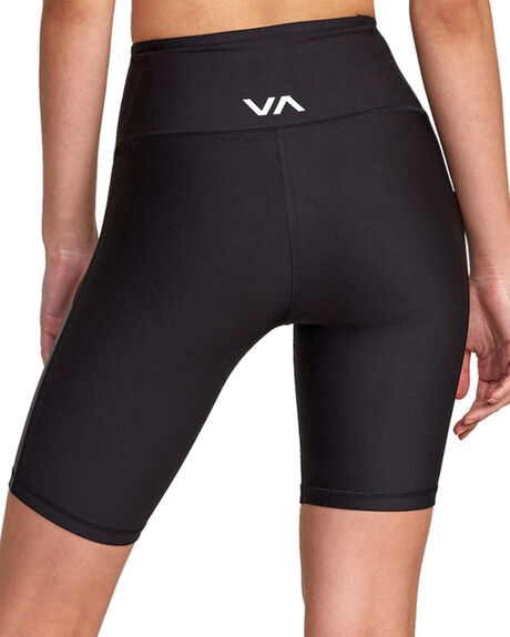 BLACK WOMENS CLOTHING RVCA ACTIVEWEAR - RV-R407877-BLK