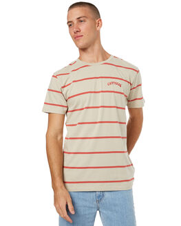 SAND MENS CLOTHING THE CRITICAL SLIDE SOCIETY TEES - SWT1712SAND