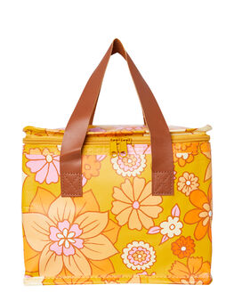 RETRO MUSTARD FLORAL WOMENS ACCESSORIES KOLLAB BAGS + BACKPACKS - P-LB-RMF