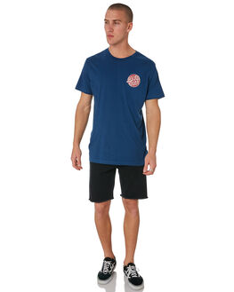 NAVY MENS CLOTHING SANTA CRUZ TEES - SC-MTC8937NAVY