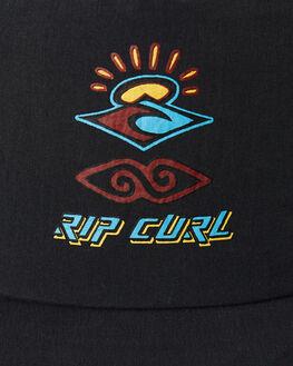 BLACK MENS ACCESSORIES RIP CURL HEADWEAR - CCAPJ10090