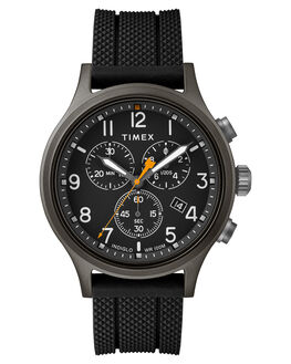 BLACK BLACK DIAL MENS ACCESSORIES TIMEX WATCHES - TW2R60400BLK